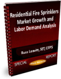 Residential Fire Sprinklers Market Growth and Labor Demand Analysis